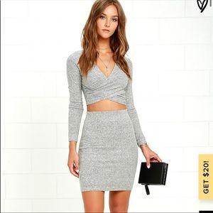 Lulus 2 piece sweater dress